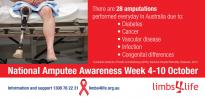 NATIONAL AMPUTEE AWARENESS WEEK 4-10 OCTOBER